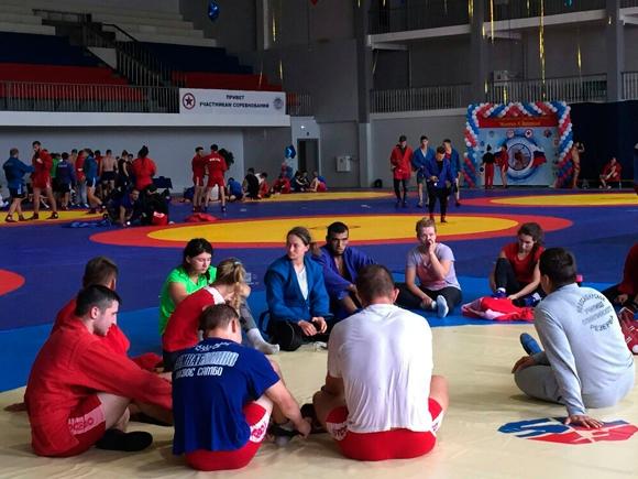 Международный тренировочный сбор по самбо