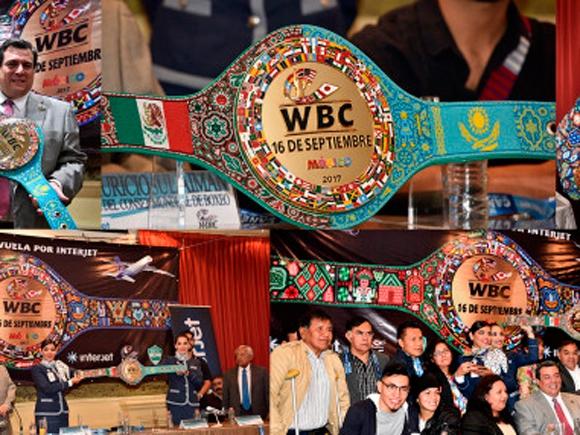 Особенный чемпионский пояс WBC для победителя
