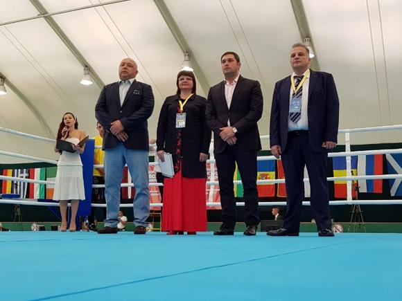 Открытия первенства по боксу среди юношей