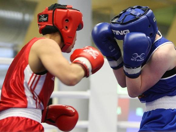 Трансляция чемпионата по боксу среди мужчин