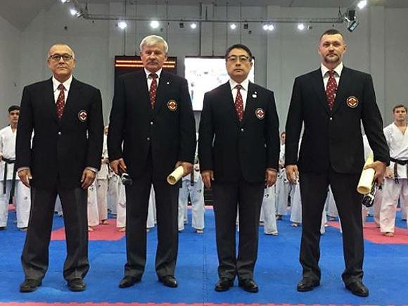 Пукасу В.В. и Ипатову А.А. были вручёны 7-е даны киокушинкай
