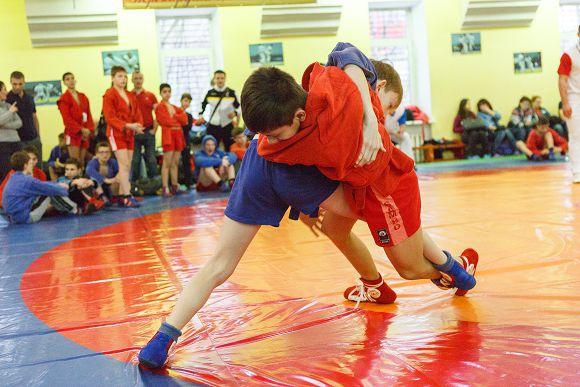 Новогодний этап Кубка Юности Москвы по самбо 2017