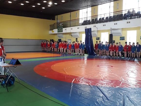 Турнир по самбо спортивной школы